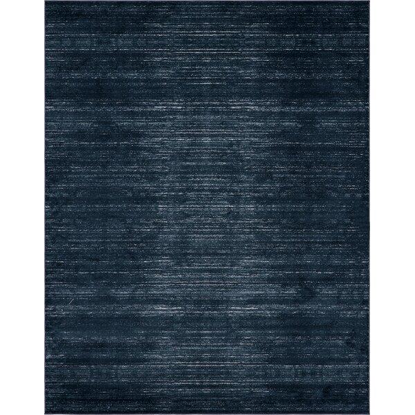 Uptown Madison Avenue Navy Blue Area Rug by Jill Zarin™