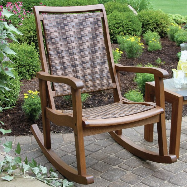 Rex Rocking Chair by Beachcrest Home
