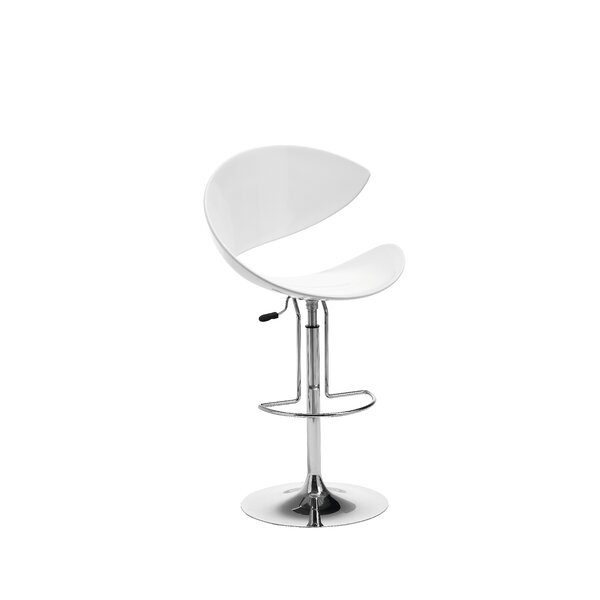 Twist Adjustable Height Swivel Bar Stool by Midj