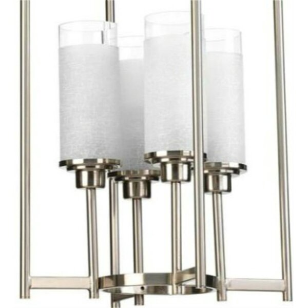Oyer 4 - Light Shaded Rectangle / Square Chandelier With Crystal Accents By Orren Ellis