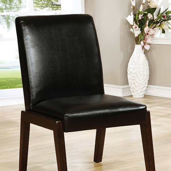 Barber Upholstered Dining Chair (Set of 2) by Latitude Run