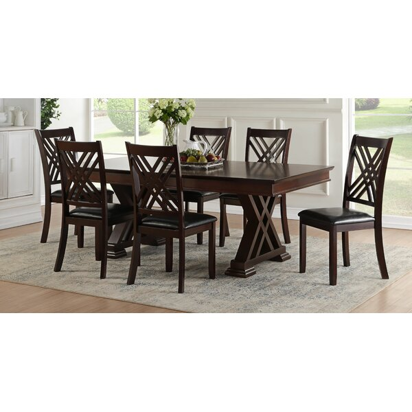 Ewalt 7 Piece Dining Set by Darby Home Co Darby Home Co