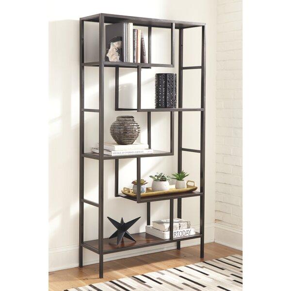 Sorrentino Geometric Etagere Bookcase By Williston Forge