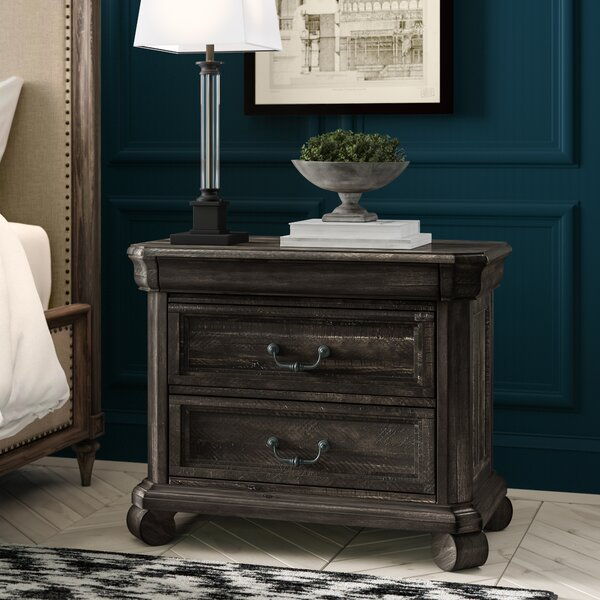 Ellenton 3 Drawer Nightstand by Greyleigh