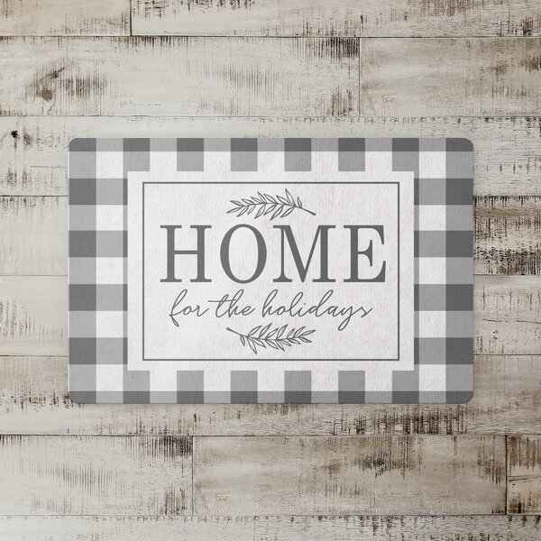 Desouza Home for the Holidays Kitchen Mat