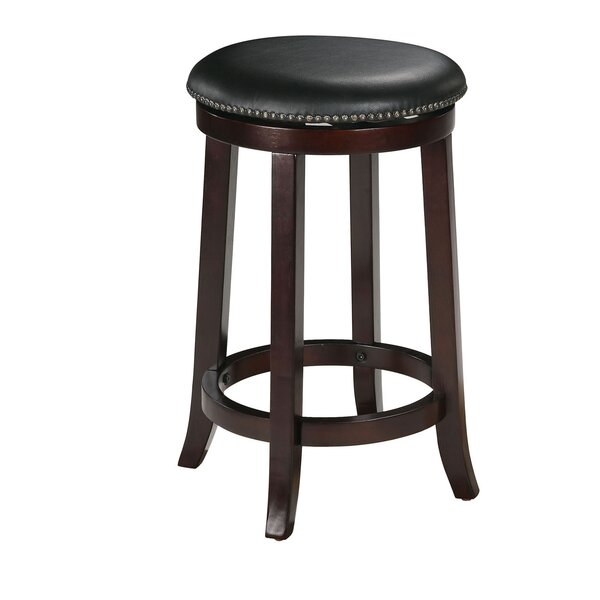 Cambridgeshire 29 Swivel Bar Stool (Set of 2) by Charlton Home