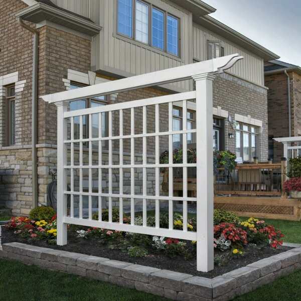 Camden Vinyl Lattice Panel Trellis by New England Arbors