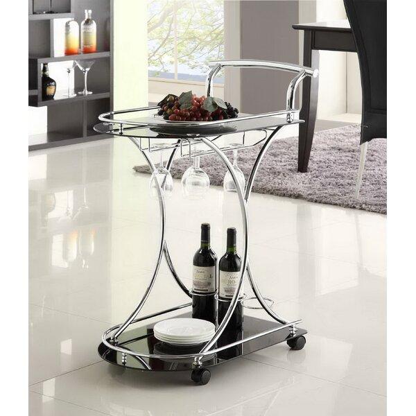 Belser Bar Cart by Latitude Run