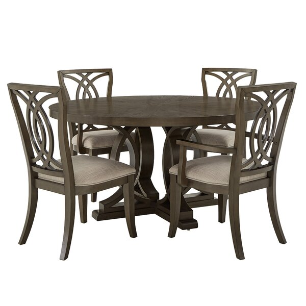 Lechlade 5 Piece Dining Set by Canora Grey Canora Grey
