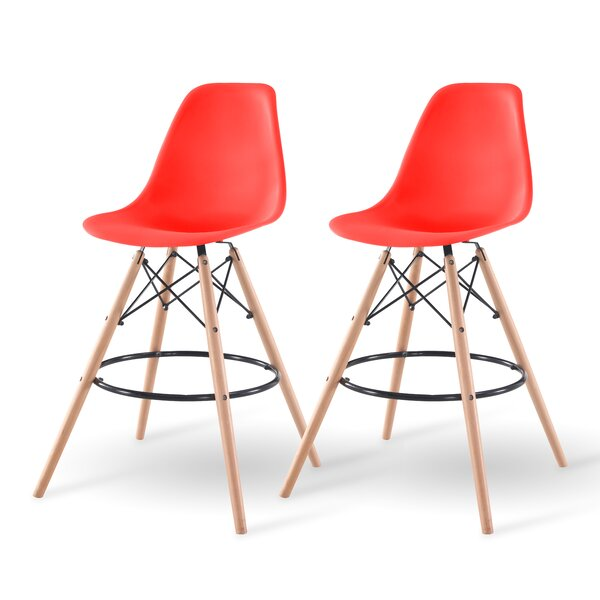 Shell Bar Stool (Set of 2) by IRIS USA, Inc.