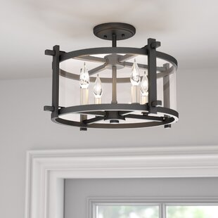 Find Yucca Valley 4-Light Semi Flush Mount By Trent Austin Design