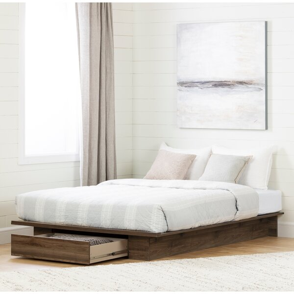Holland Queen Platform Bed by South Shore