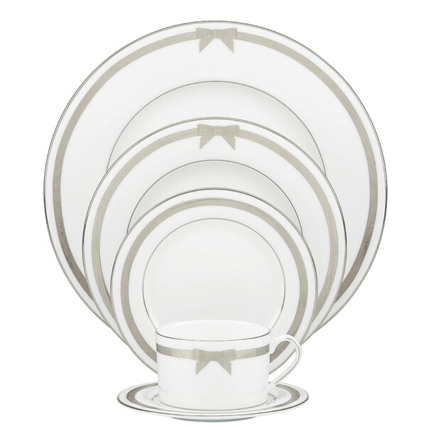 Grace Avenue Bone China 5 Piece Place Setting, Service for 1 by kate spade new york