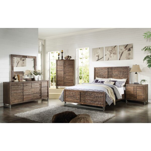 Queen Standard Configurable Bedroom Set by World Menagerie