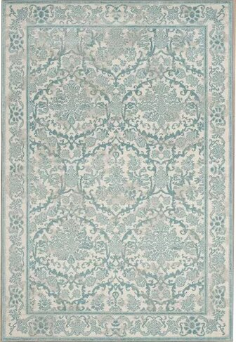 Montelimar Ivory/Light Blue Area Rug by Lark Manor