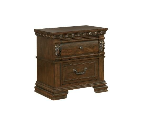 2 Drawer Nightstand by Coaster