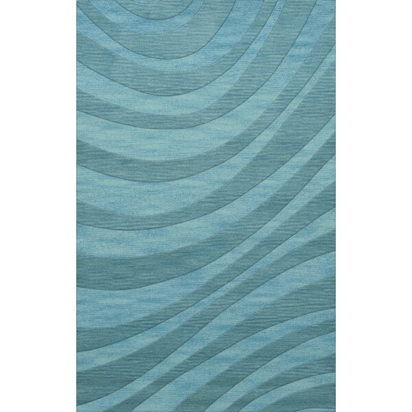 Dover Tufted Wool Peacock Area Rug by Dalyn Rug Co.