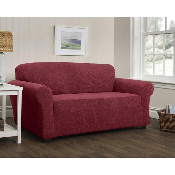 Stretch Box Cushion Sofa Slipcover By Red Barrel Studio