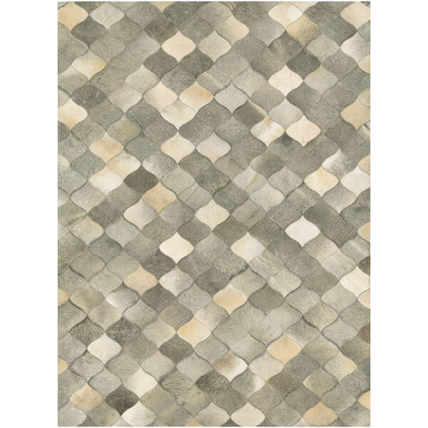 Willis Hand-Woven Ivory/Gray Area Rug by Trent Austin Design