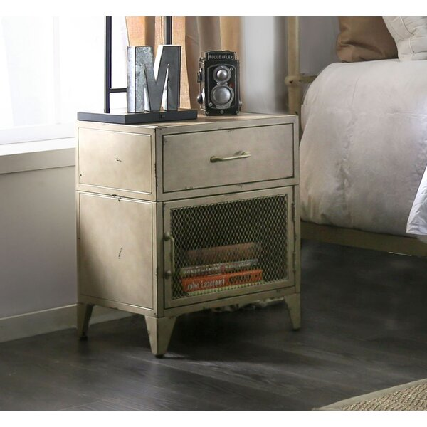 Jacinta 1 Drawer Nightstand by Williston Forge