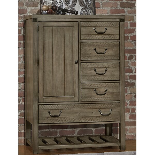 Rakowski Storage 5 Drawer Gentlemans Chest by Loon Peak