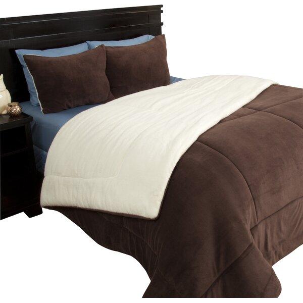 Bilmont Reversible Comforter Set by Alcott Hill