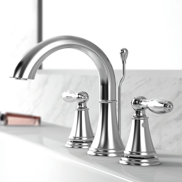 Winchester Widespread Bathroom Faucet with Drain Assembly by Windon Bay Windon Bay