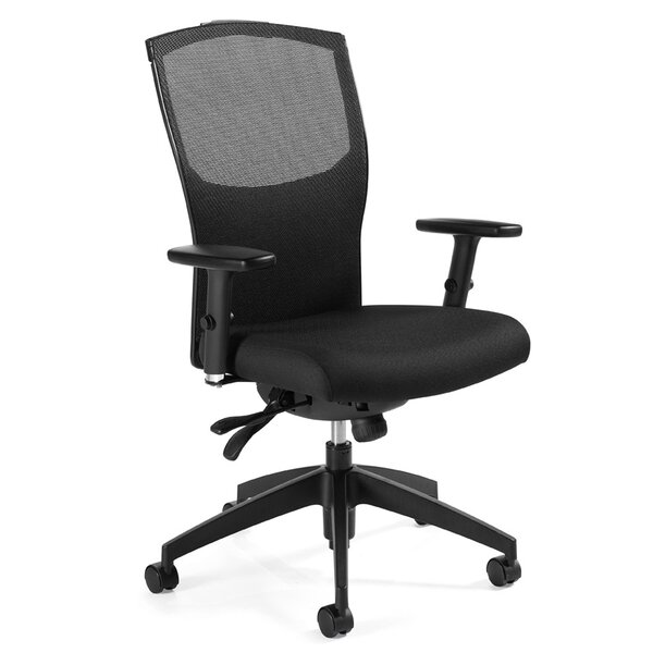 Alero Multi Mesh Desk Chair by Global Total Office
