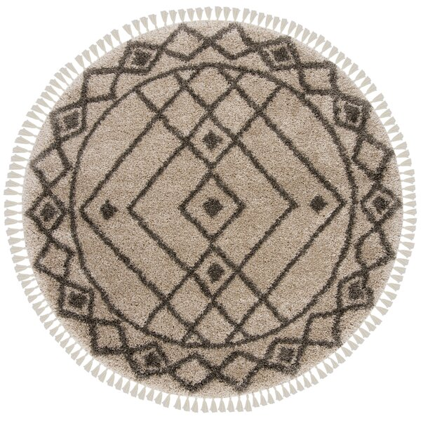 Ararat Mushroom/Gray Area Rug by Bungalow Rose