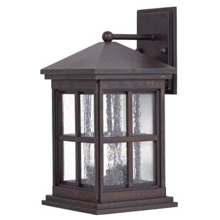 Price Check Berkeley 3-Light Outdoor Wall Lantern By Great Outdoors by Minka