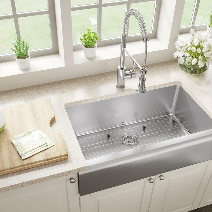Stainless Steel 33 X 20 Farmhouse A Kitchen Sink