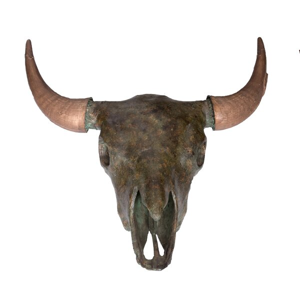 Buffalo Skull Bust by Wildon Home®