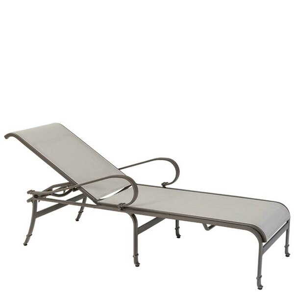 Torino Reclining Chaise Lounge by Tropitone