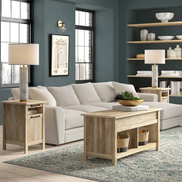 Tilden 3 Piece Coffee Table Set By Greyleigh