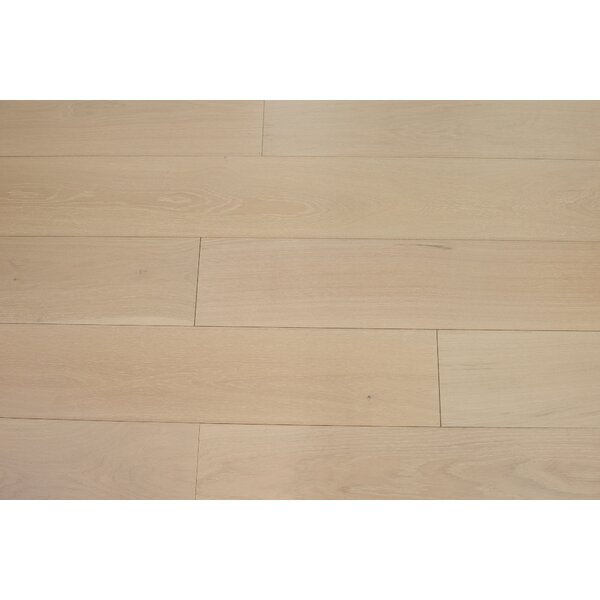 Bergen 7-1/2 Engineered Oak Hardwood Flooring in Bone by Branton Flooring Collection
