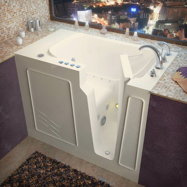 Flagstaff 52 x 29 Walk-In Air and Whirlpool Jetted Bathtub by Therapeutic Tubs