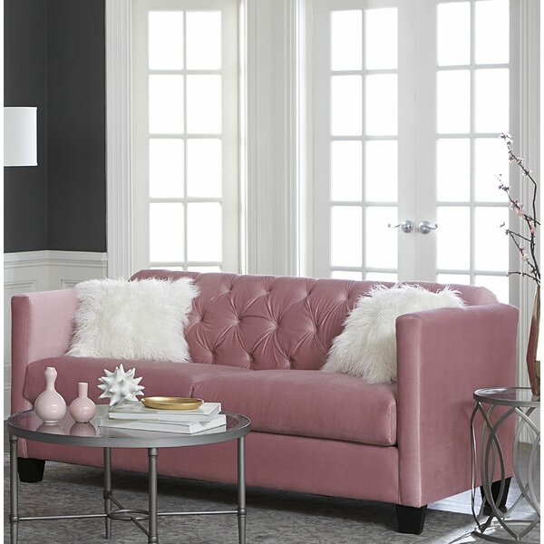 Dashing Collection Alissa Sofa by House of Hampton by House of Hampton