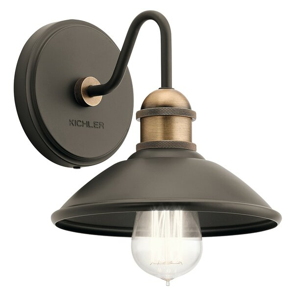 Cowans 1-Light Armed Sconce by 17 Stories