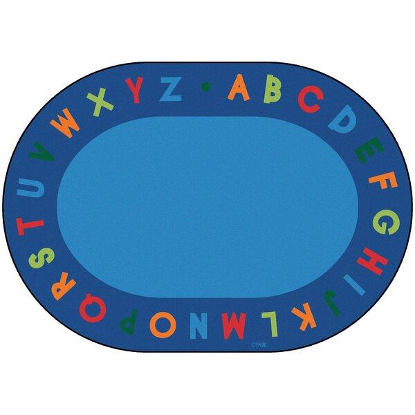 Emilion Alphabet Primary Area Rug by Zoomie Kids