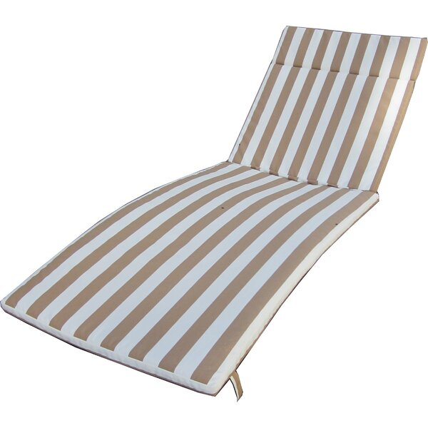 Indoor/Outdoor Chaise Lounge Cushion by Darby Home