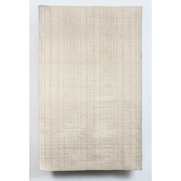 Darrius Wool Beige Indoor/Outdoor Area Rug by Latitude Run