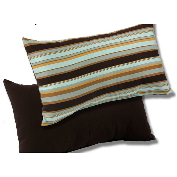 Outdoor Sunbrella Lumbar Pillow (Set of 2) by Comfort Classics Inc.