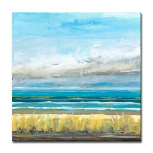 'Clearsky' Oil Painting Print on Canvas by Beachcrest Home
