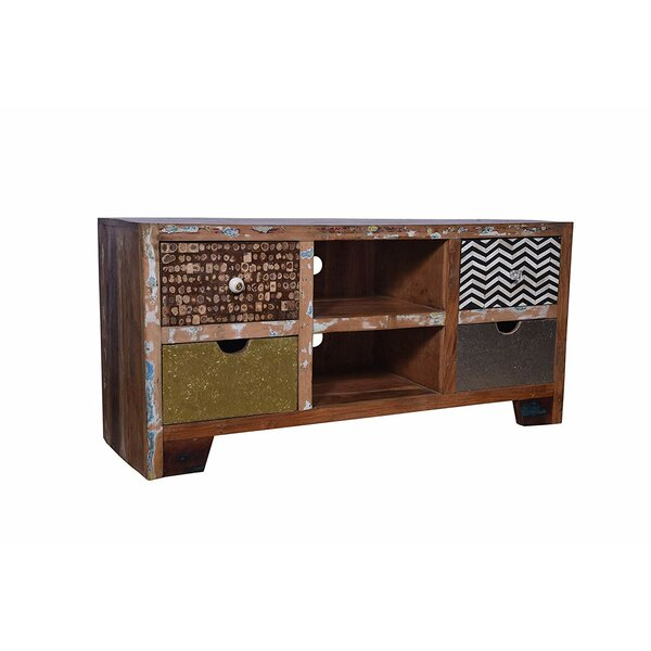 Allenstown Solid Wood TV Stand For TVs Up To 58