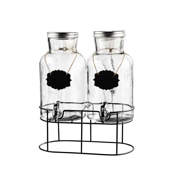 Lemond 158 Oz. Beverage Dispenser (Set of 2) by Gracie Oaks