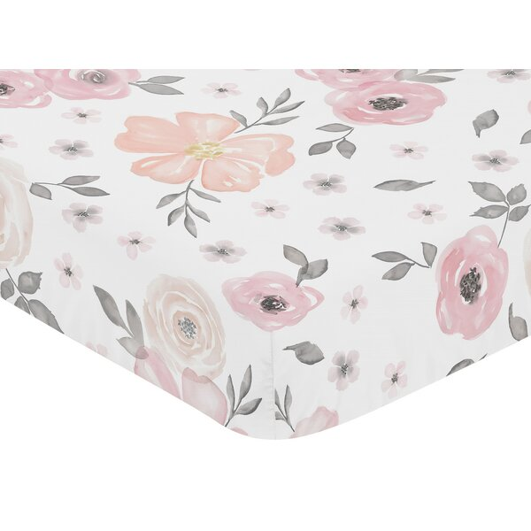Floral Fitted Crib Sheet by Sweet Jojo Designs
