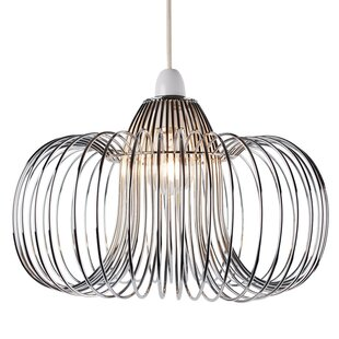 Easy fit chandelier wayfair wire easy fit 33cm metal novelty pendant shade aloadofball Choice Image