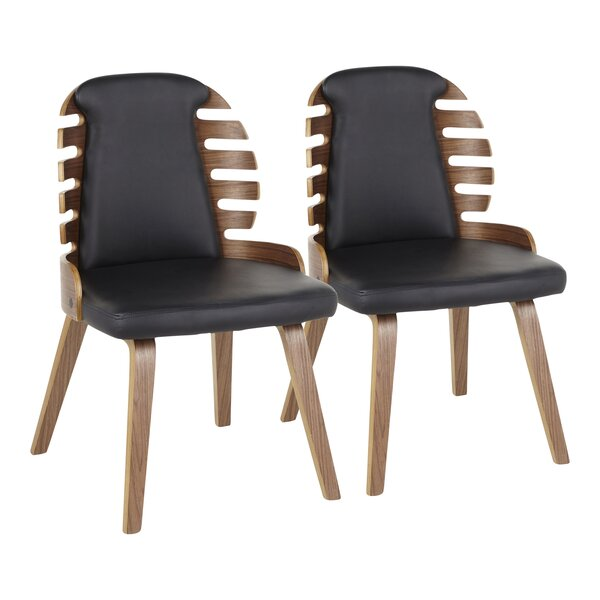 Garden Upholstered Dining Chair (Set of 2) by George Oliver