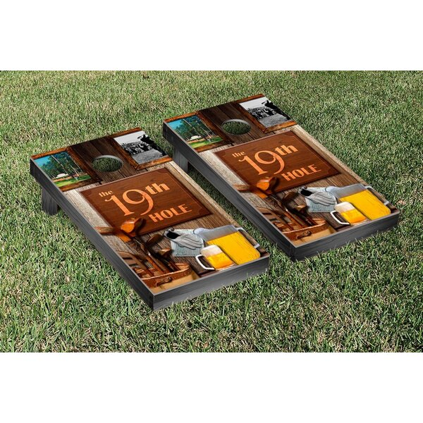 Golf The 19th Hole Cornhole Game Set by Victory Tailgate