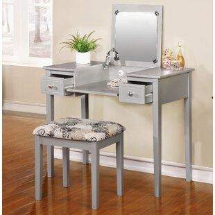 Saw Works Vanity Set With Mirror